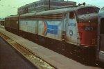 AMTK 285, 314 on train from Boston